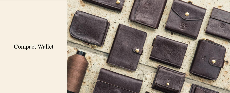 イルビゾンテ 二つ折り財布 コンパクトウォレット