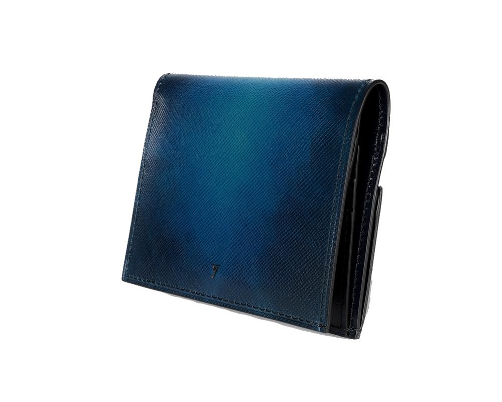 yuhaku ユハク YEV122 薄型二つ折り財布