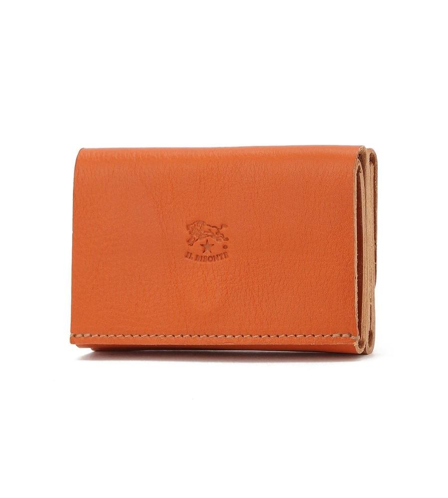 ジャバラポケット 二つ折り財布 イルビゾンテ コンパクトウォレット