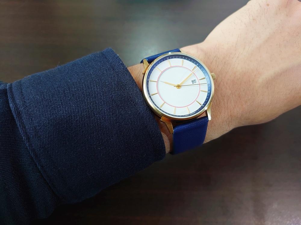 Lagom Watches ラーゴムウォッチ BORJA(LIMITED EDITION)【LW060:メンズ向け】 2020年夏至限定版 着用6