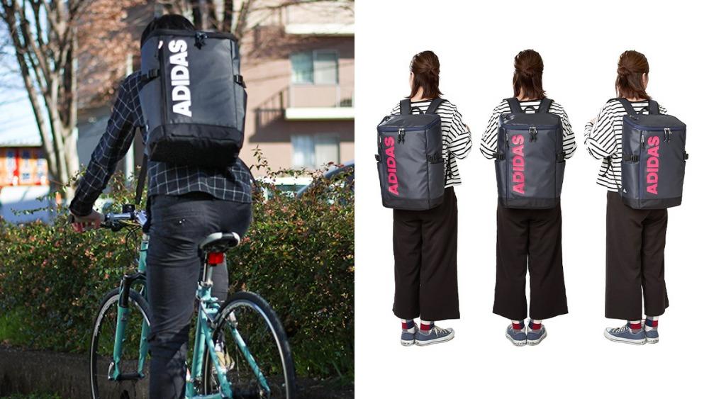 アディダス(adidas)スクエアリュック ボックス型