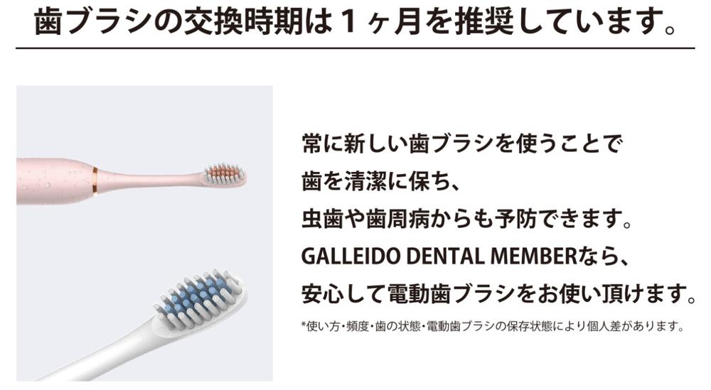 替え歯ブラシは280円
