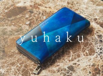 yuhaku ユハク 財布 ラウンドファスナーウォレット(YxV114)