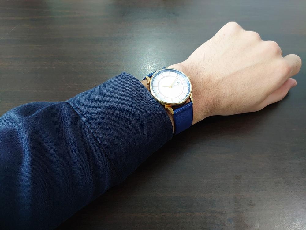 Lagom Watches ラーゴムウォッチ BORJA(LIMITED EDITION)【LW060:メンズ向け】 2020年夏至限定版 着用1