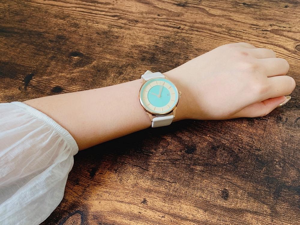 Lagom Watches ラーゴムウォッチ BORJA(LIMITED EDITION)【LW070:レディース向け】 2020年夏至限定版 着用1