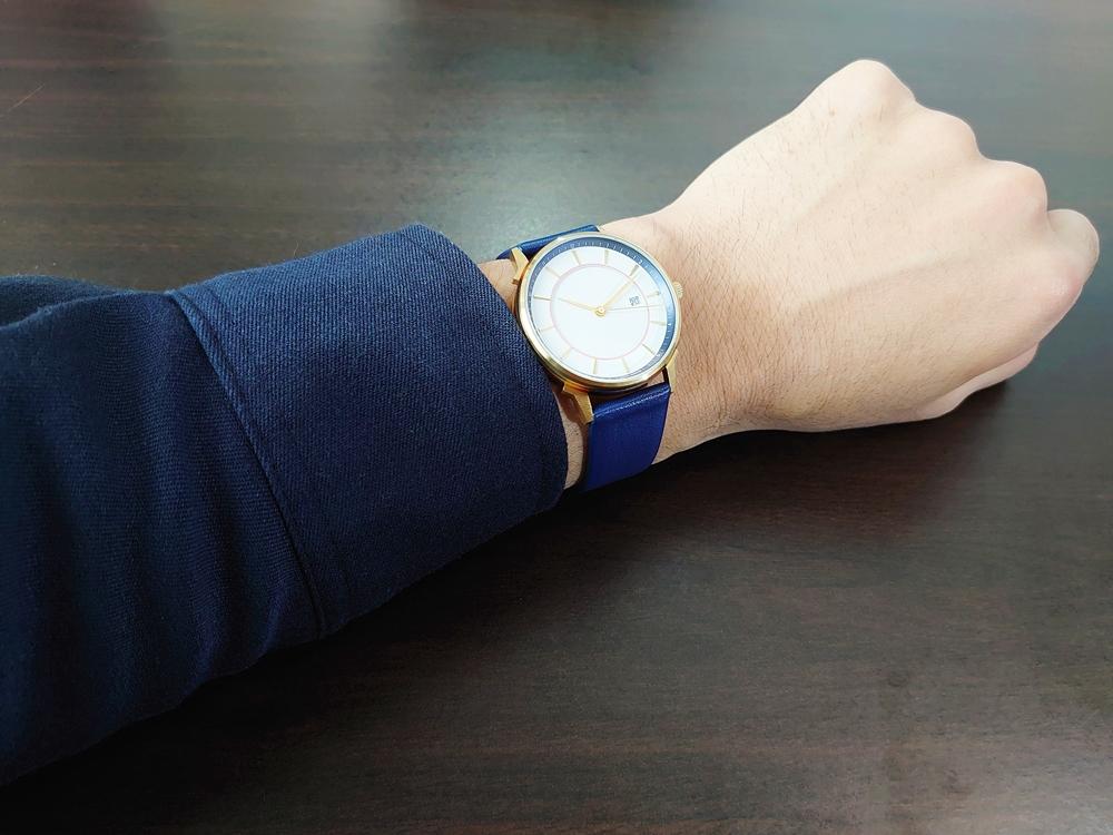 Lagom Watches ラーゴムウォッチ BORJA(LIMITED EDITION)【LW060:メンズ向け】 2020年夏至限定版 着用2