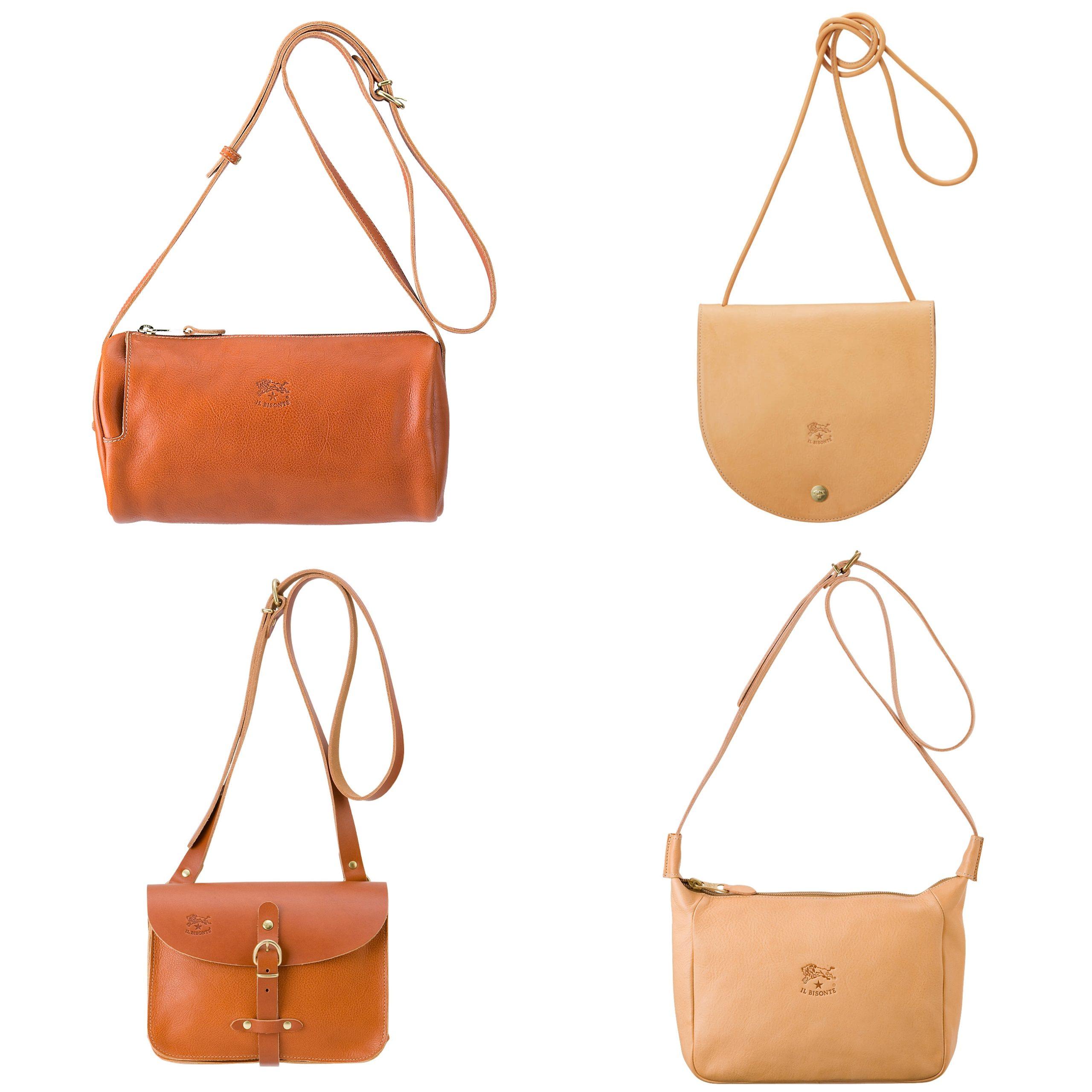 クロスボディバッグ(イルビゾンテ)Leather Bag