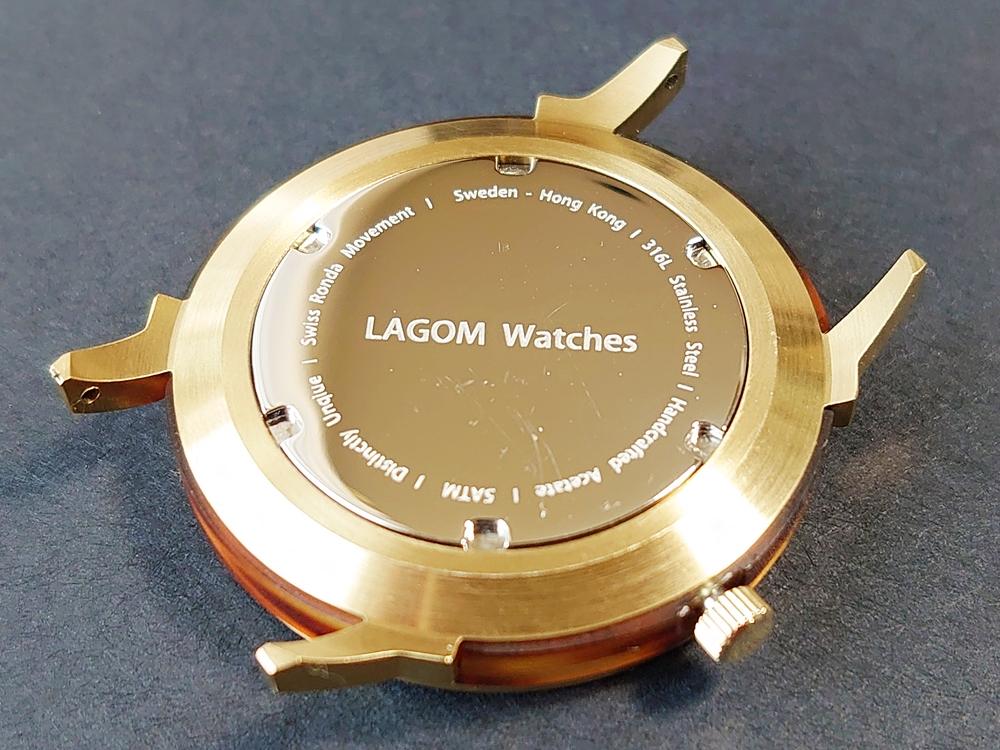 Lagom Watches ラーゴムウォッチ BORJA(LIMITED EDITION)2020年夏至限定版 LW060 時計 バックケース