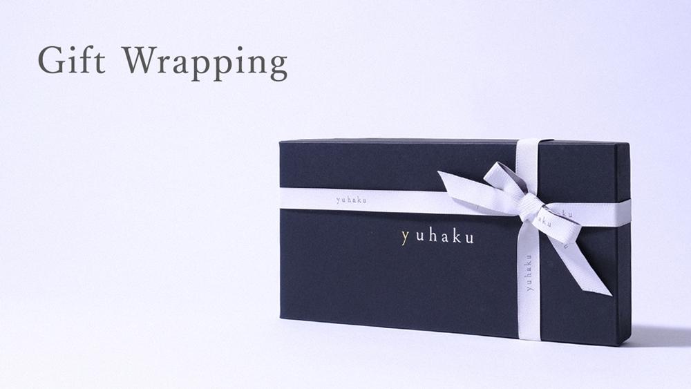 yuhaku ユハク プレゼント ギフトラッピング