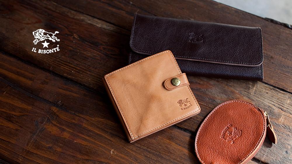 IL BISONTE イルビゾンテ 財布 ウォレット コレクション