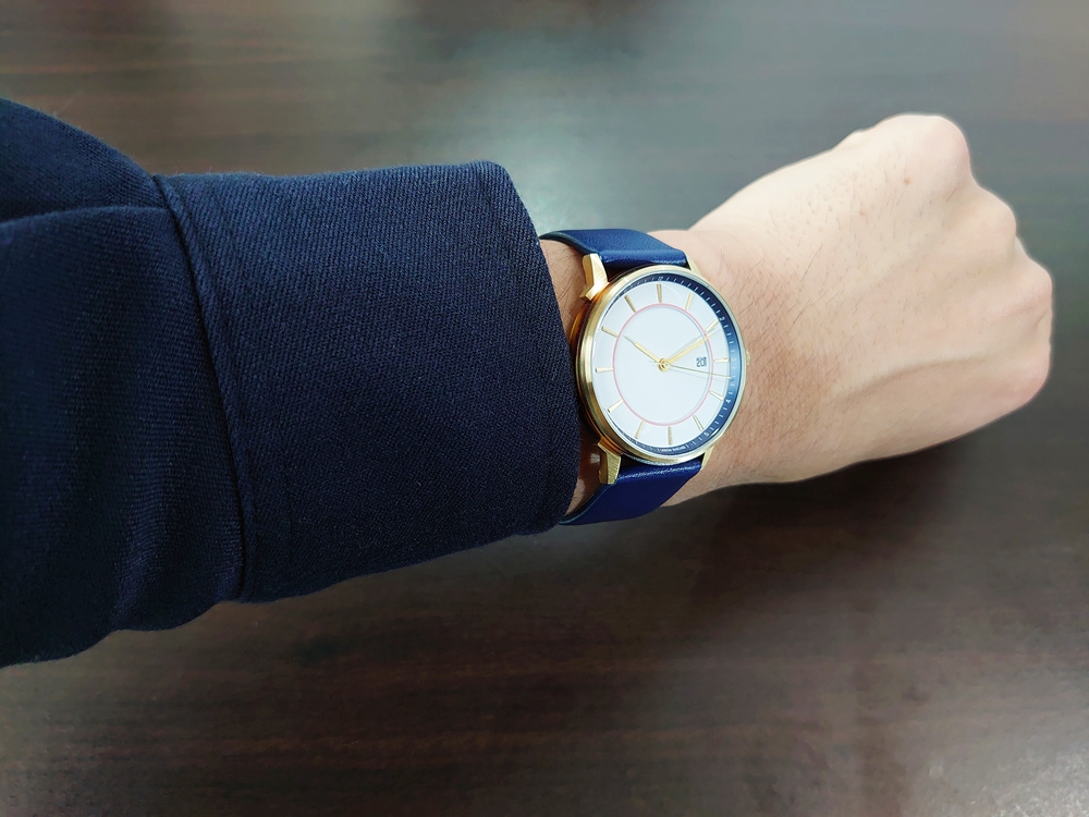 Lagom Watches ラーゴムウォッチ BORJA(LIMITED EDITION)【LW060:メンズ向け】 2020年夏至限定版 着用5