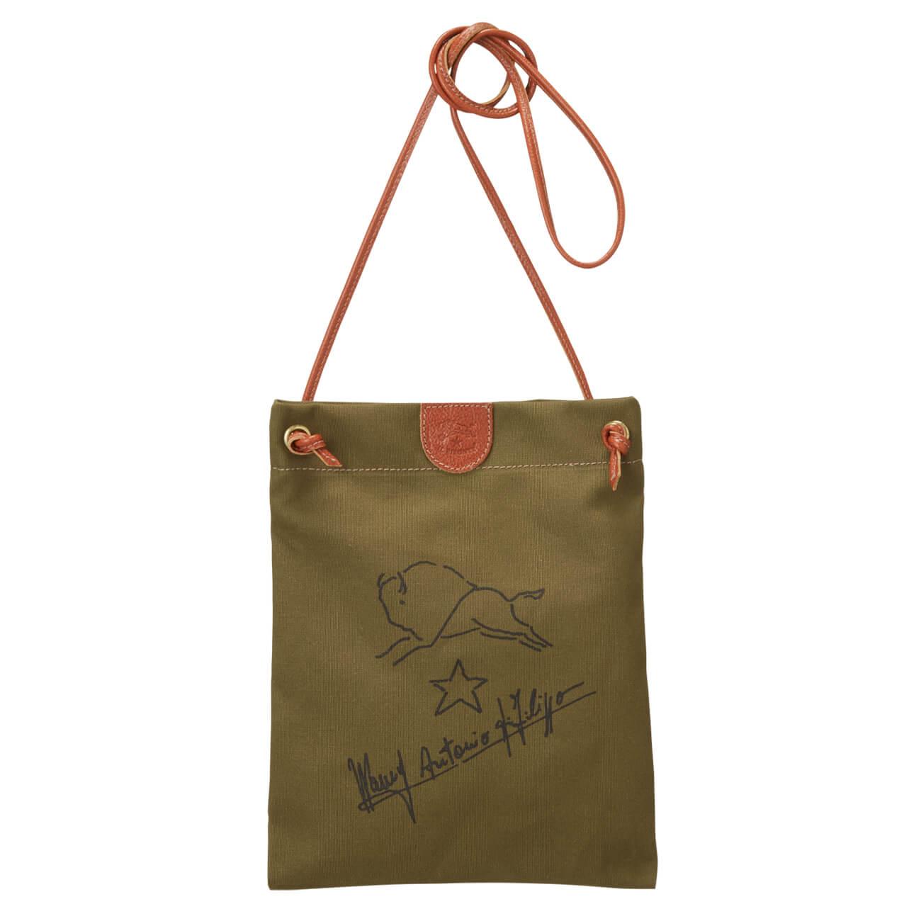 クロスボディバッグ(イルビゾンテ)Canvas Bag