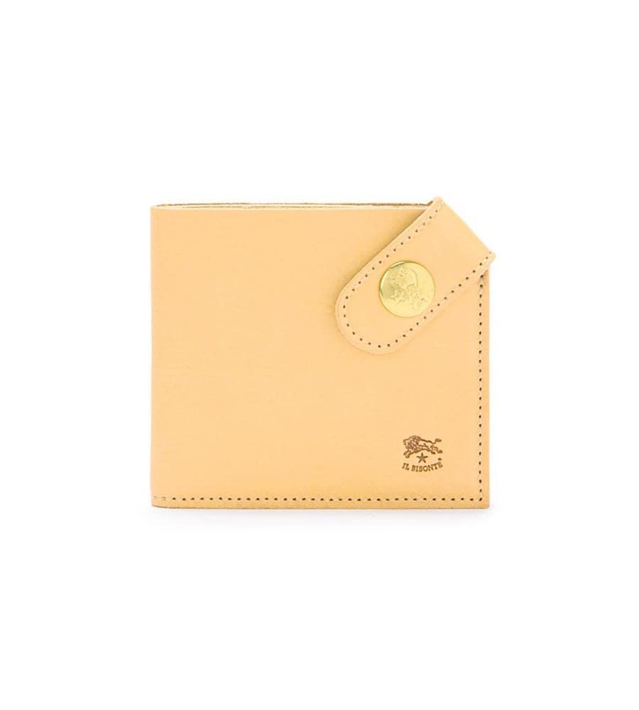 スナップベルト 二つ折り財布 イルビゾンテ コンパクトウォレット