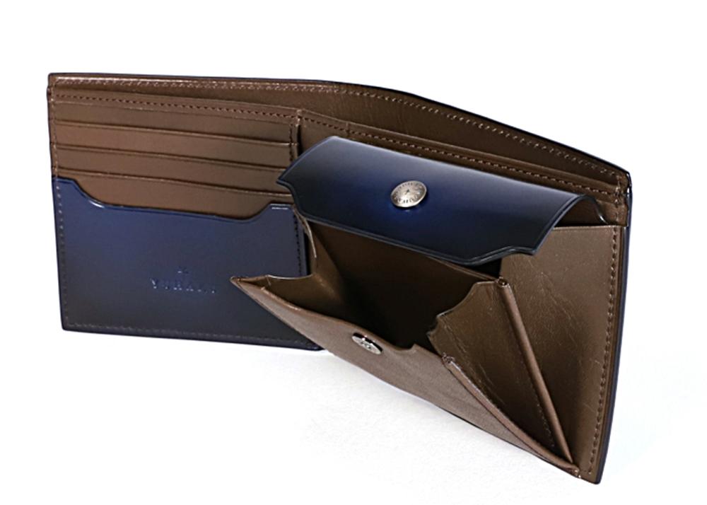 yuhaku ユハク Diamant YFC132 二つ折り財布 内装