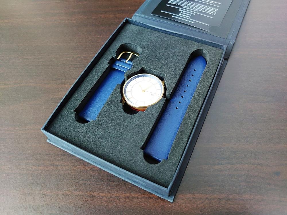Lagom Watches ラーゴムウォッチ BORJA(LIMITED EDITION)2020年夏至限定版 LW060 時計とストラップ