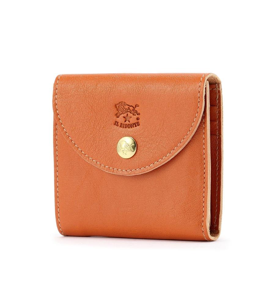 スモールサイズ 二つ折り財布 イルビゾンテ コンパクトウォレット