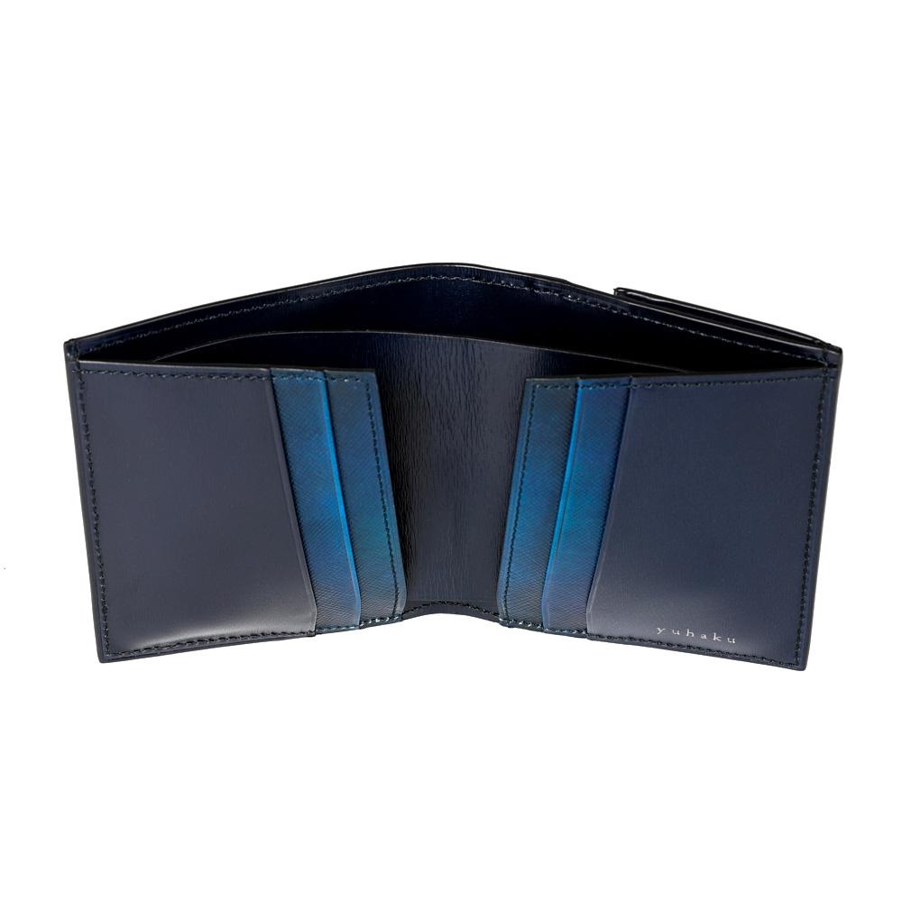 薄型二つ折り財布 yuhaku(ユハク)