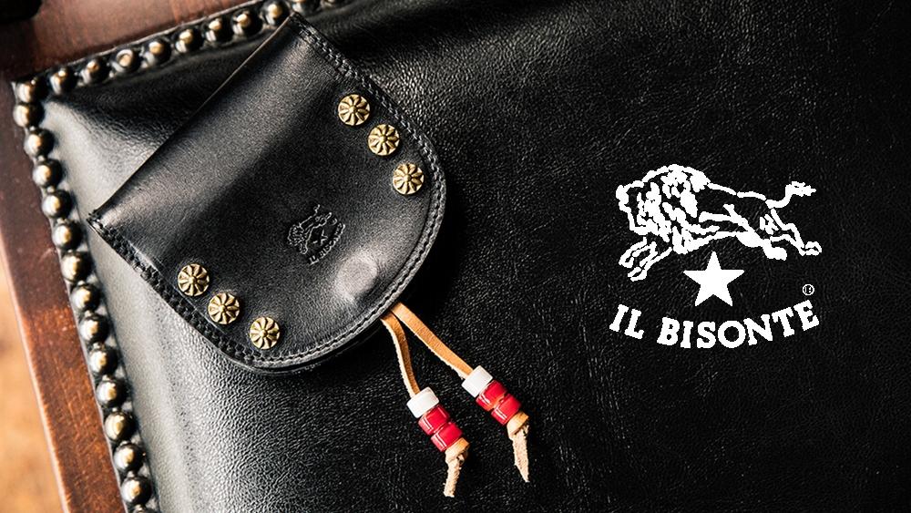 イルビゾンテ コインケース(馬蹄型小銭入れ)ブラック