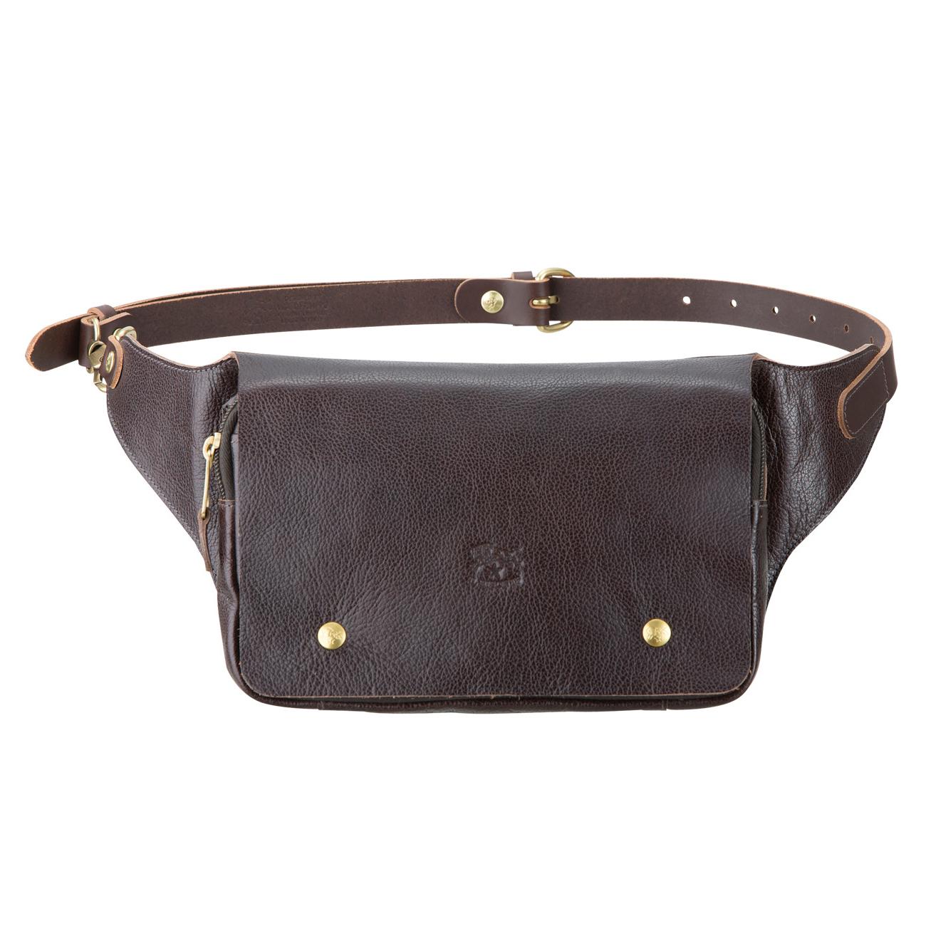 バムバッグ(イルビゾンテ)Leather Bag