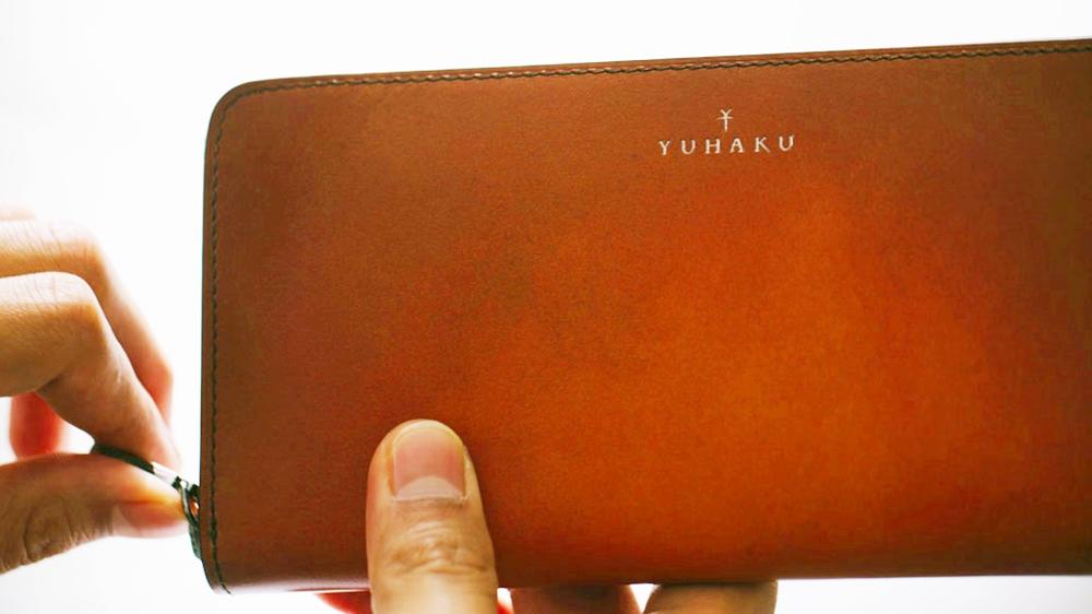 yuhaku ユハク YPF114 ラウンドファスナーウォレット