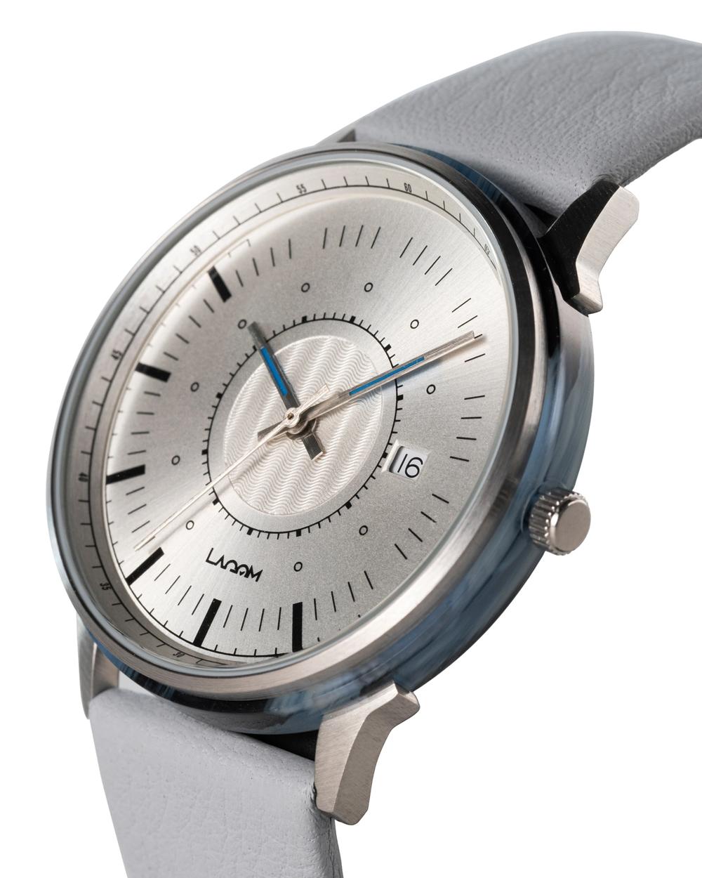 LAGOM Watches(ラーゴムウォッチ) SJO シルバー.シルバー.グレー LW038