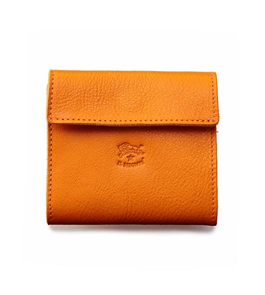 BOXコインケース付き 二つ折り財布 イルビゾンテ コンパクトウォレット