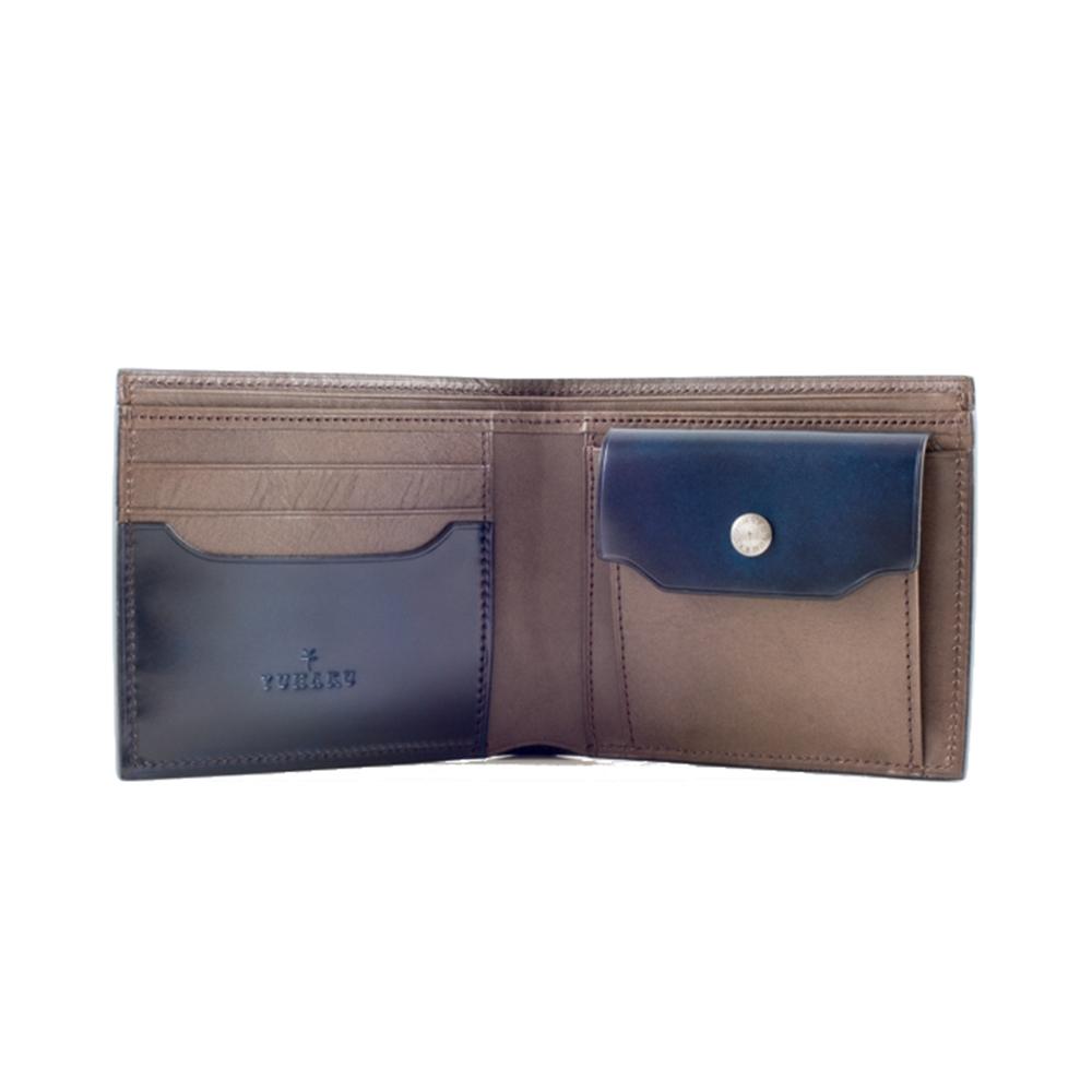 二つ折り財布(小銭入れ付き) yuhaku(ユハク)