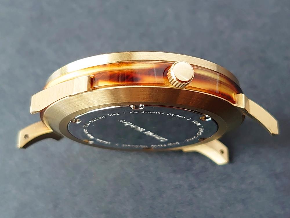 Lagom Watches ラーゴムウォッチ BORJA(LIMITED EDITION)2020年夏至限定版 LW060 時計 アウターケース トータスカラー