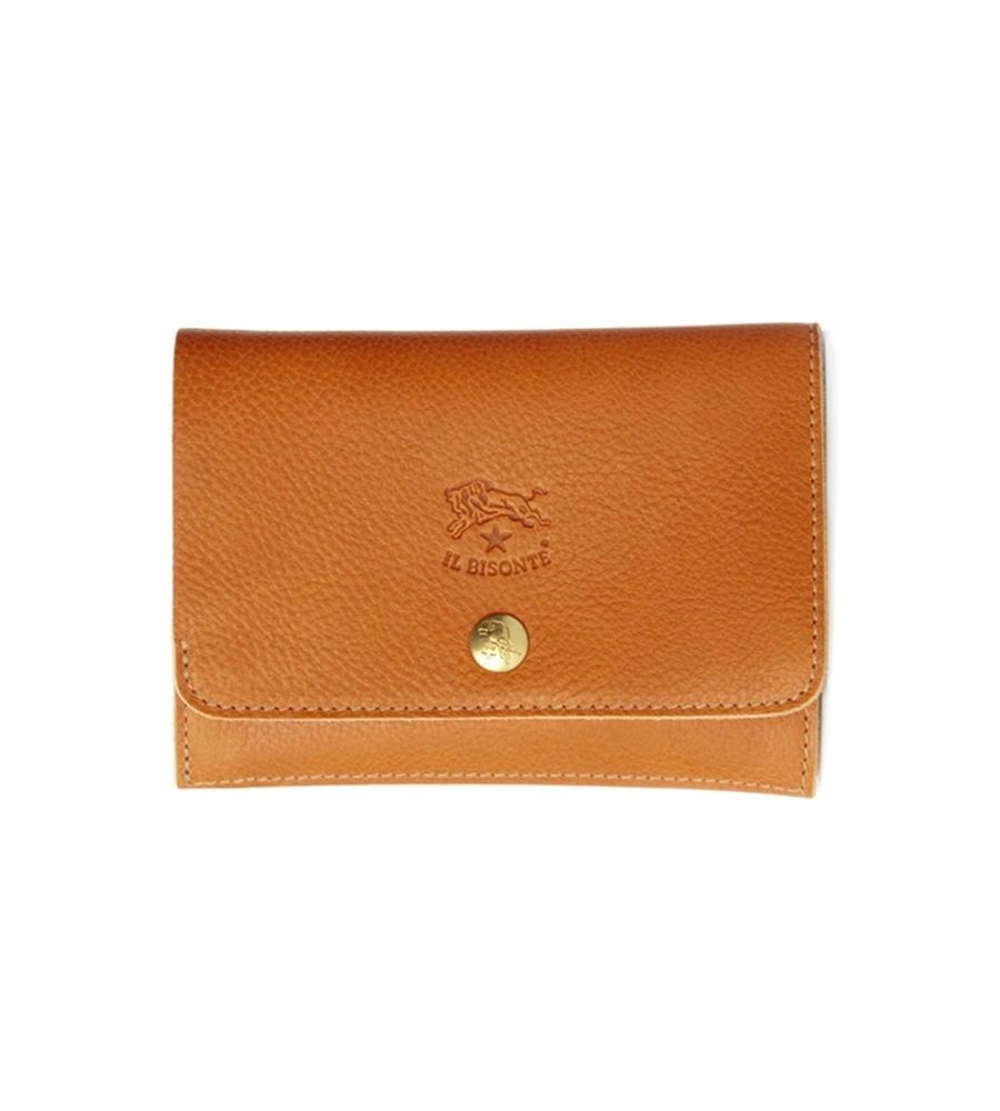 ベーシック 二つ折り財布 イルビゾンテ コンパクトウォレット
