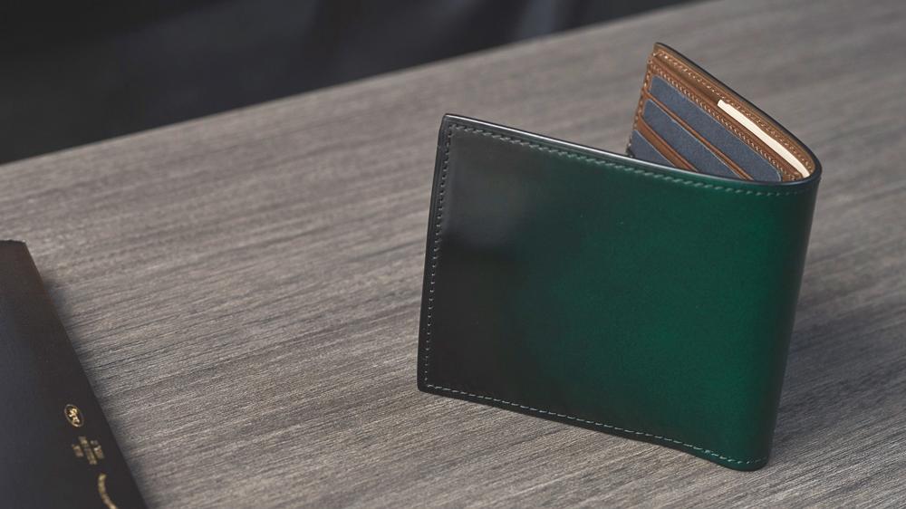 yuhaku ユハク Diamant YFC132 二つ折り財布