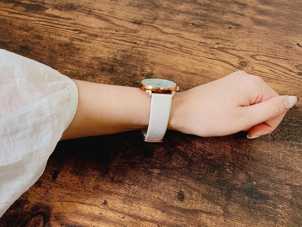 Lagom Watches ラーゴムウォッチ BORJA(LIMITED EDITION)【LW070:レディース向け】 2020年夏至限定版 着用2