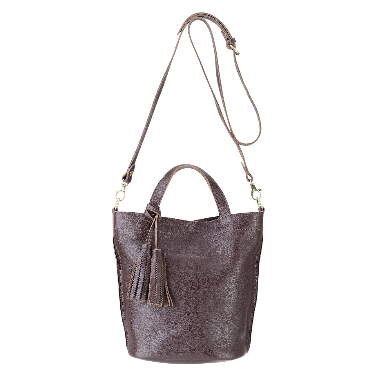 ハンドバッグ(イルビゾンテ)Leather Bag