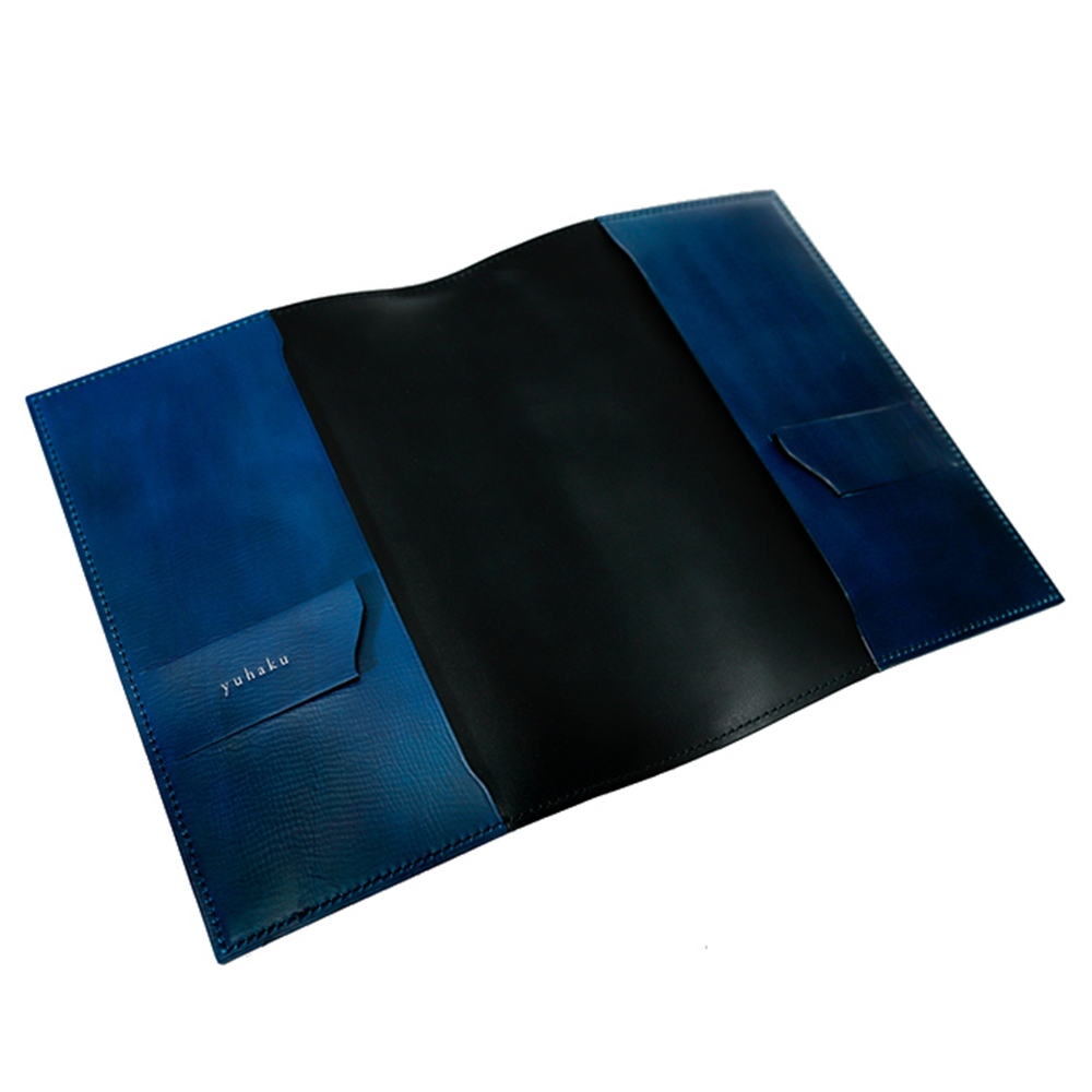YVR241 手揉み加工 ブックカバー (単行本サイズ) yuhaku ユハク