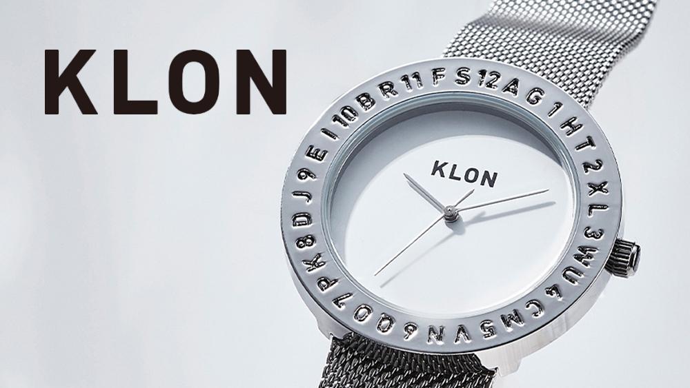 KLON クローン シンプル腕時計