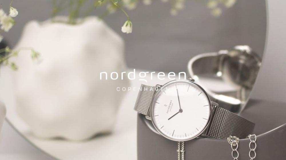 Nordgreen(ノードグリーン)Native ネイティブ ホワイトシルバー メッシュ