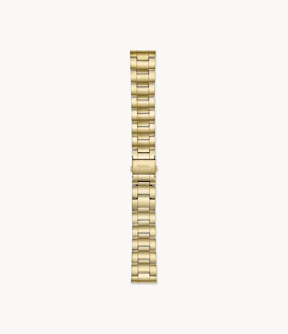 22 mm 3列ゴールドトーンステンレススチールブレスレット S221439_main FOSSIL フォッシル