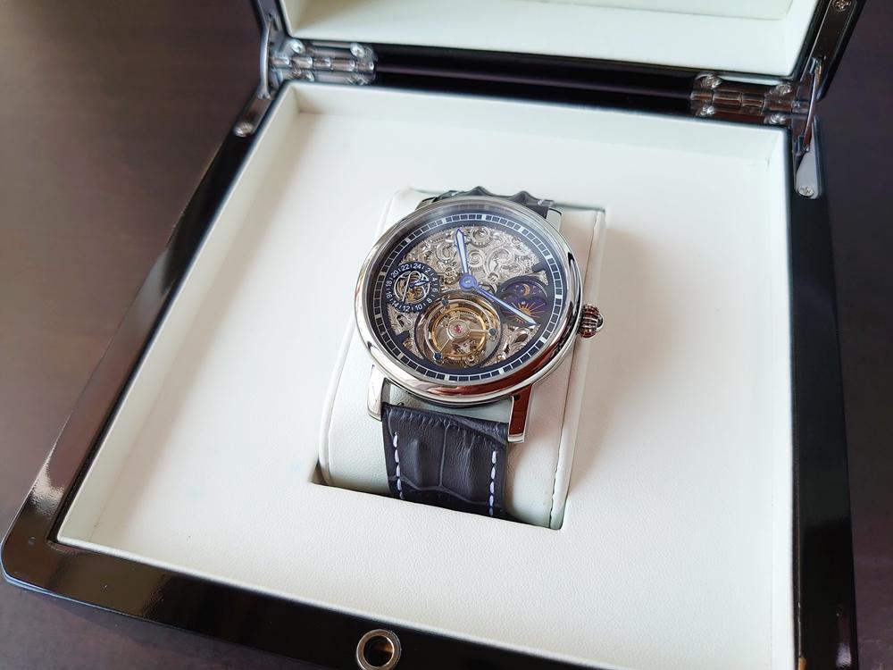 ERA Timepieces Prometheus(プロメテウス) Ogininal 手動巻き(プライムエディション)専用ケース オープン