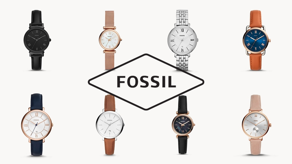 FOSSIL フォッシル 腕時計 シンプル レディース