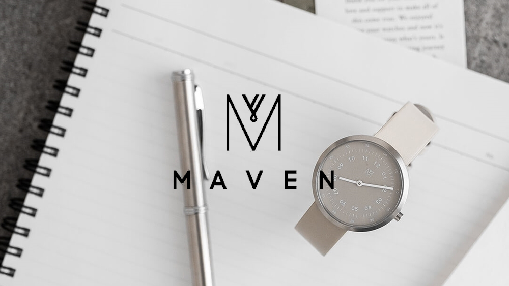 MAVEN WATCHES マベンウォッチズ シンプル腕時計 安い