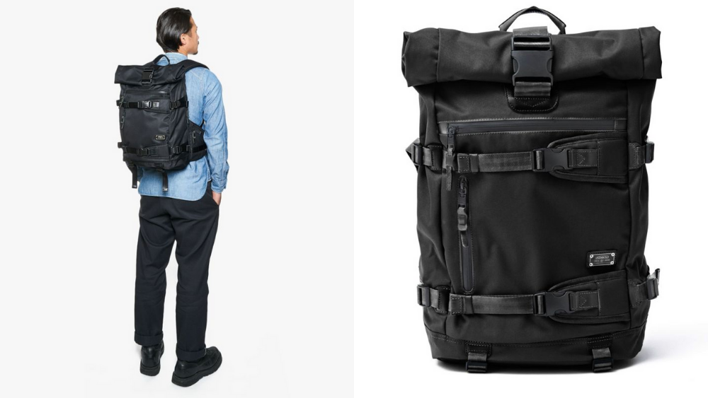 アッソブ(AS2OV)大容量 CORDURA DOBBY 305D ROLL BACK PACK BLACK