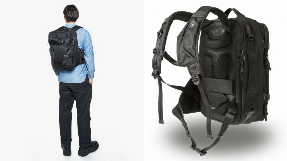 アッソブ(AS2OV)大容量 CORDURA DOBBY 305D 3WAY BACK PACK S BLACK