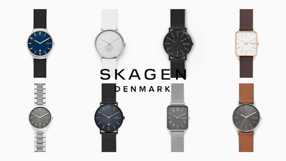 SKAGEN スカーゲン デンマーク シンプル腕時計