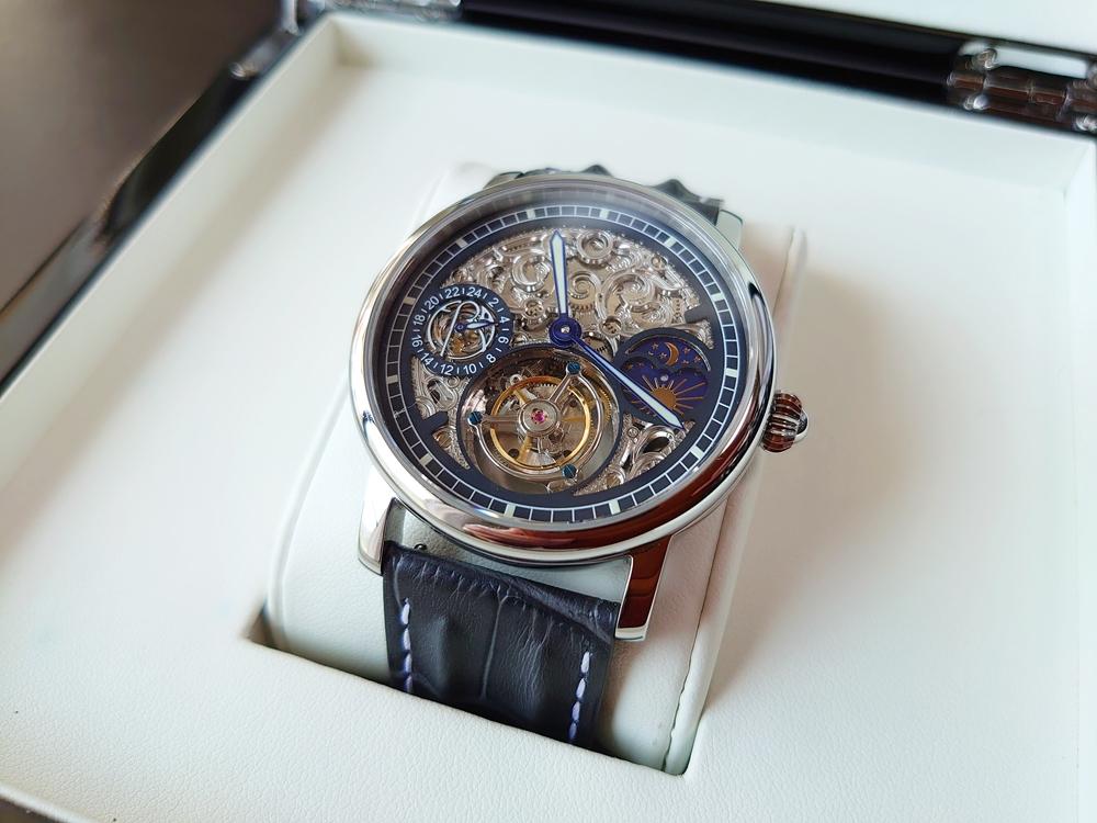 ERA Timepieces Prometheus(プロメテウス) Ogininal 手動巻き(プライムエディション)文字盤デザイン