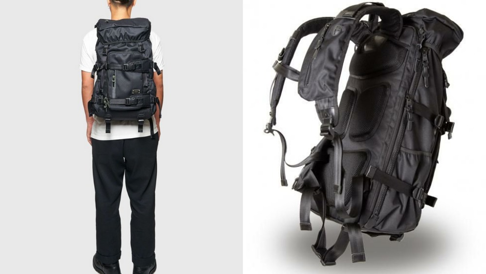 アッソブ(AS2OV)大容量 CORDURA DOBBY 305D BACK PACK BLACK