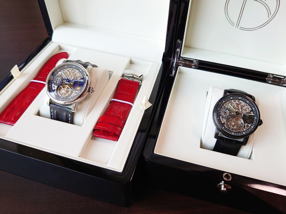 ERA Timepieces【Prometheus(プロメテウス)手動巻き・自動巻き】トゥールビヨン腕時計 レビュー