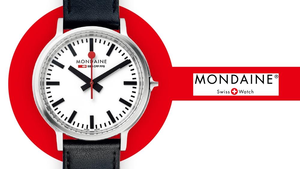 MONDAINE モンディーン シンプル腕時計