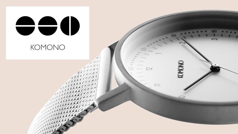 KOMONO コモノ シンプル腕時計
