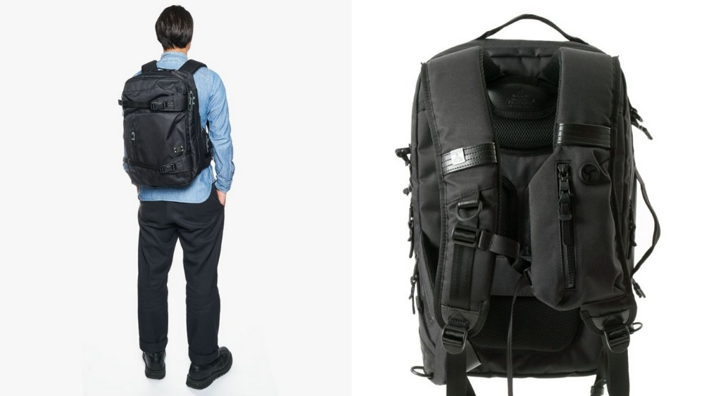 アッソブ(AS2OV)大容量 CORDURA DOBBY 305D 3WAY BACK PACK M BLACK