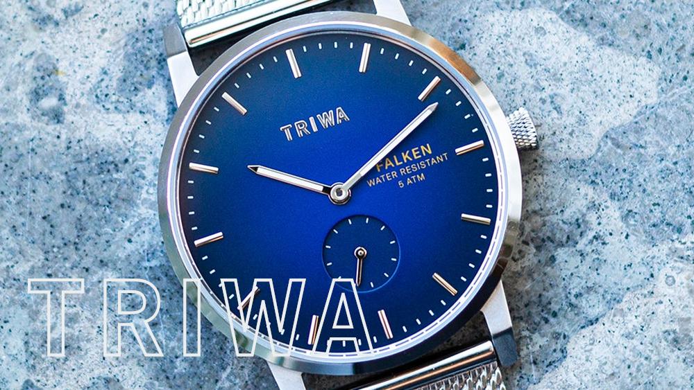 TRIWA(トリワ)北欧腕時計 スウェーデン(ストックホルム)