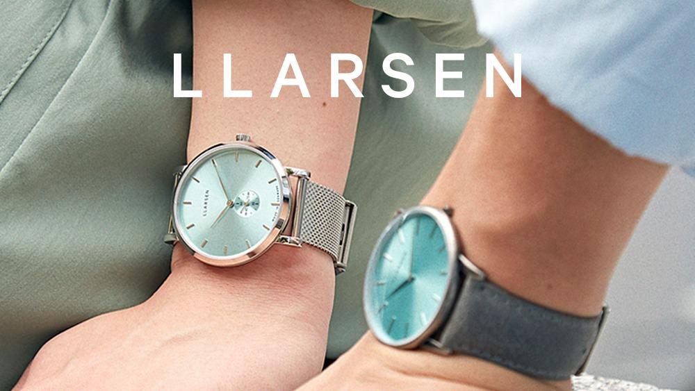 LLARSEN(エルラーセン)北欧腕時計 デンマーク